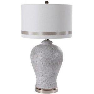 Besp Oak Textured Ceramic Table Lamp