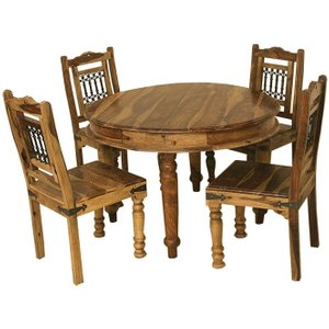 Indian Furniture Company Thacket Sheesham Round Dining Table
