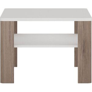 Furniture To Go Toronto Coffee Table - Sanremo Oak And High Gloss White