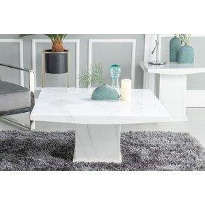 Turin Marble Coffee Table - White - Urban Deco, white