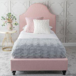 Urban Deco Daisy Powder Pink Fabric Bed