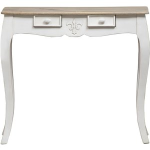 Urban Deco Fleur French Style Distressed Painted Console Table