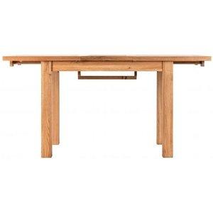 Besp Oak Vancouver Compact Oak Extending Dining Table