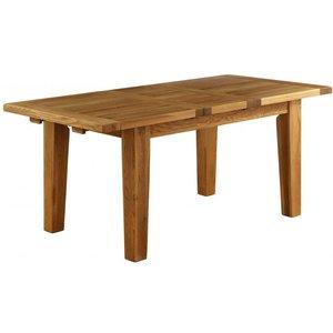 Besp Oak Vancouver Petite Oak Rectangular Extending Dining Table - 180cm-230cm