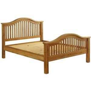 Besp Oak Vancouver Premium Solid Oak Bed