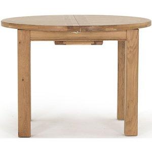 Vida Living Breeze Oak 107cm-140cm Round Extending Dining Table