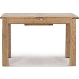 Vida Living Breeze Oak Small Extending Dining Table, Oak