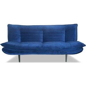 Vida Living Ethan Blue Velvet Sofa Bed, Blue