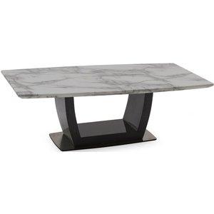 Vida Living Luciana Grey Marble Coffee Table