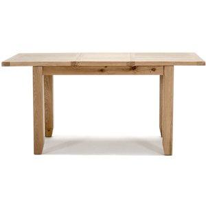 Vida Living Ramore Oak 120cm-165cm Extending Dining Table, Oiled