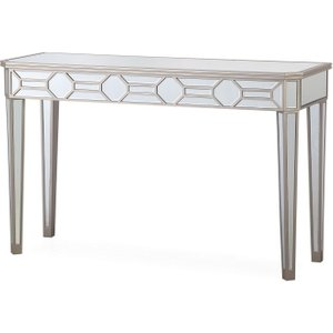 Vida Living Rosa Mirrored Console Table