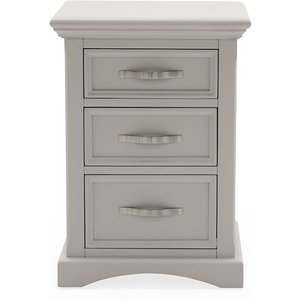 Vida Living Turner Grey Painted Bedside Cabinet, Grey Painted