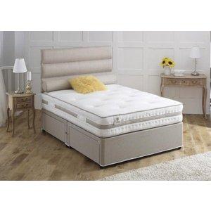 Vogue Beds Vogue Airstream Bliss 1000 Pocket Spring Platform Top Fabric Divan Bed