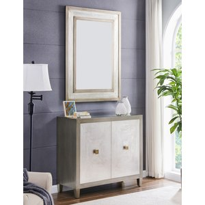 Glimmer Furniture Waco 2 Door Small Sideboard With Mirror