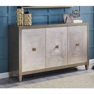 Glimmer Furniture Waco 3 Door Sideboard