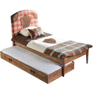 Minturk Walsall Walnut Guest Bed