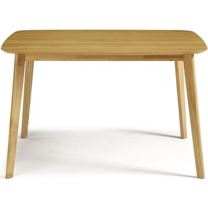 Westminister Oak 120cm Fixed Top Dining Table - Serene Furnishings West1200oafixe