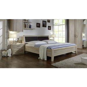 Wiemann UK Wiemann Luxor 3+4 43cm Bedside Height 4ft 6in Double Bed In Rustic Oak With Bedding Box - 140cm X 2
