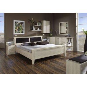 Wiemann UK Wiemann Luxor 3+4 48cm Bedside Height 4ft 6in Double Bed In Light Ash With Bedding Box - 1, Light Ash