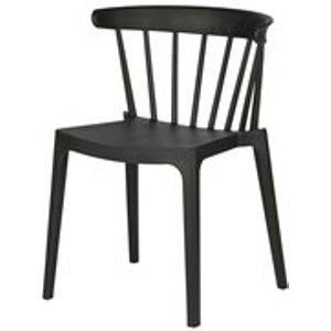 Cuckooland Bliss Outdoor Bar Chair In Black By Woood - Seconds Clearance Stock 378634 Z Beds