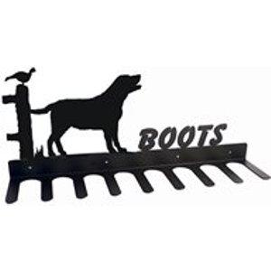 The Profiles Range Boot Rack In Labrador Design - Medium Labrador 3 Boot Rack Storage