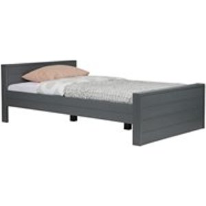 Dennis Small Double Bed In Steel Grey By Woood 365549 Gbs Beds