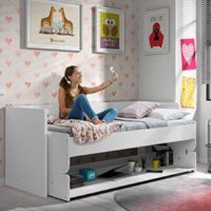 Cuckooland Denver 2 In 1 Desk & Day Bed In White Dehsz6014 Beds