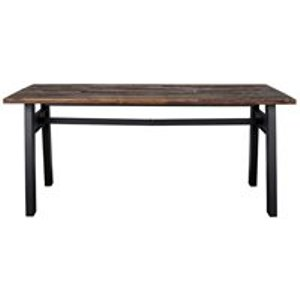 Dutchbone Crude Dining Table In Reclaimed Elm Wood - Large 2100011 Tables