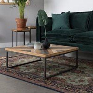 Cuckooland Joy Coffee Table In Herringbone Design 2300117 Tables