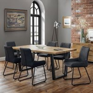 Julian Bowen Brooklyn Dining Set With Soho Chairs - 6 Chairs Bro104 Tables