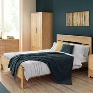 Julian Bowen Curve Wooden Bed Frame - Double Cur208 Beds