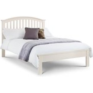 Julian Bowen Olivia Double Bed Frame In White Oli002 Beds