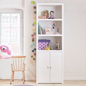 Lifetime Kids Lifetime Customisable Bookcase In White - 4 Compartments 8030 10 Storage