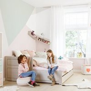 Lifetime Kids Day Bed With Trundle Bed & Drawer - Lifetime White 47109 10 Beds