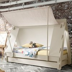 Mathy By Bols Tent Cabin Bed Available In 26 Colours - Mathy Coral Tenlit90f Pa90bf So90f Tl90fmel Coral Beds