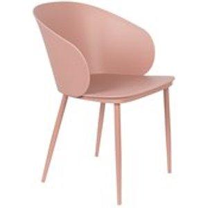 Cuckooland Pair Of Gigi Dining Chairs - All White 1100427