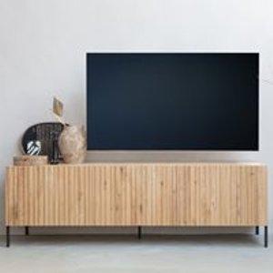 Woood Gravure Tv Stand - Black 373382 Z Storage