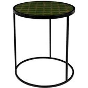 Zuiver Glazed Side Table In Green 2300128 Tables
