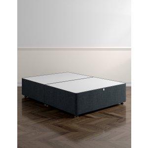 M&S Classic Firm Top Non Storage Divan Charcoal T397350, Charcoal