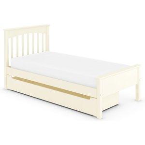 M&s Hastings Ivory Kids Storage Bed White T655685, White