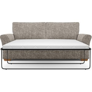 M&s Lincoln Large Sofa Bed (sprung) Taupe M9 T3933a Lsben, Taupe