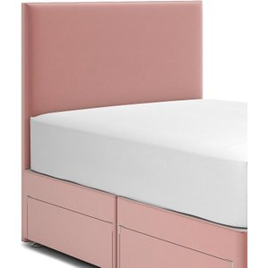 M&s Modern Headboard Dusty Pink T398062, Dusty Pink