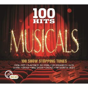 Simply He 100 Hits Musicals (various Artists) (cd) Cds