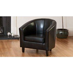 Sofa Company Boscombe Tub Chair Black