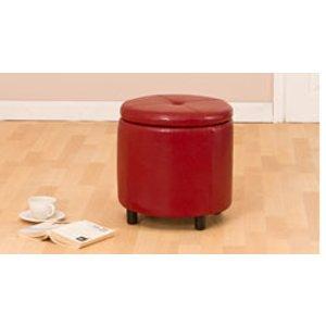 Sofa Company Cornubia Footstool Red