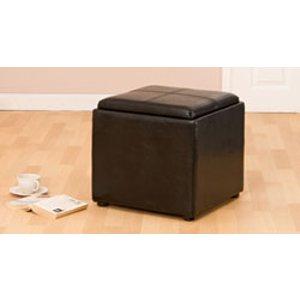 Sofa Company Langdale Footstool Black