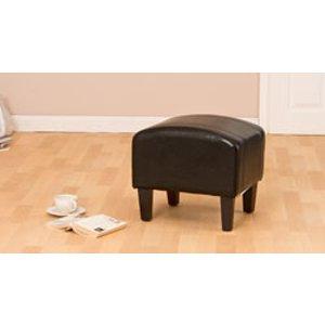 Sofa Company Roxburgh Footstool Black