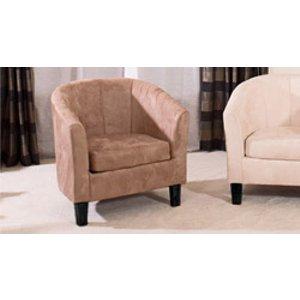 Sofa Company Sorrento Tub Chair Medium Brown