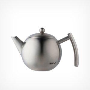 VonShef 1l Stainless Steel Tea Pot 1000156