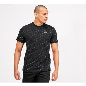 Nike Aop Swoosh T-shirt 40386902 Mens Tops